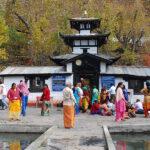 दर्शनार्थीको चहलपहल  बढ्यो मुक्तिनाथ मन्दिरमा